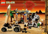 LEGO Adventurers Desert 5958 Mummy's Tomb