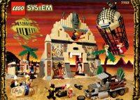 LEGO Adventurers Desert 5988 Pharaoh's Forbidden Ruins