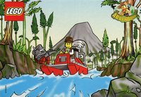 LEGO Adventurers Dino Island 5911 5912 5913 5914 comic