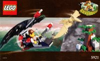 LEGO Adventurers Dino Island 5921 Research Glider