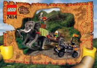 LEGO Adventurers 2003 Orient Expedition 7414 Elephant Caravan