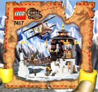 LEGO Adventurers 2003 Orient Expedition 7417 Temple of Mount Everest