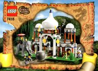 LEGO Adventurers 2003 Orient Expedition 7418 Scorpion Palace