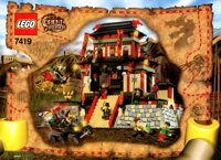 LEGO Adventurers 2003 Orient Expedition 7419 Dragon Fortress