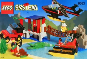 LEGO Town 6563 Gator Landing