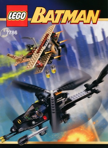 LEGO Batman 7786 The Batcopter The Chase for Scarecrow