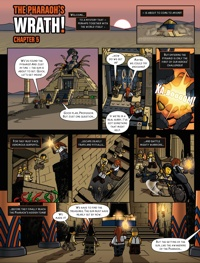 Pharaohs Quest www comics
