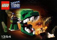 LEGO Adventurers Studios 1354 Dino Head Attack