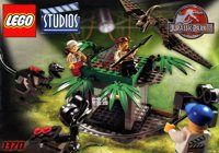 LEGO Adventurers Studios 1370 Raptor Rumble Studio