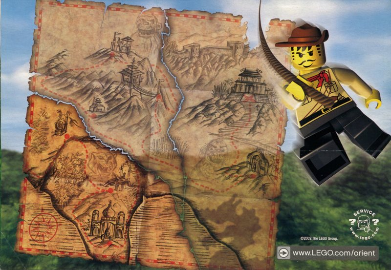 LEGO Orient Expedition map