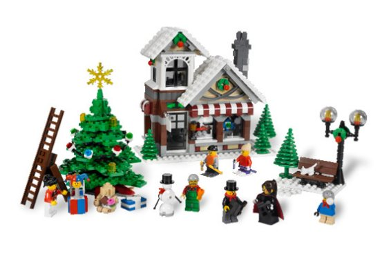 10199 Winter Toy Shop