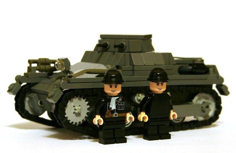 Panzer I Ausf. A by pit