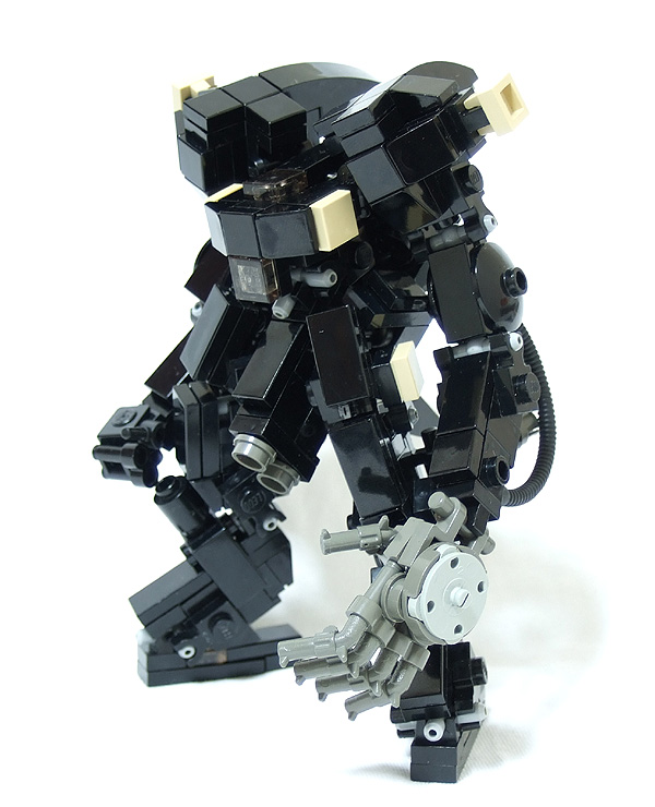 LEGO mecha by Squieu