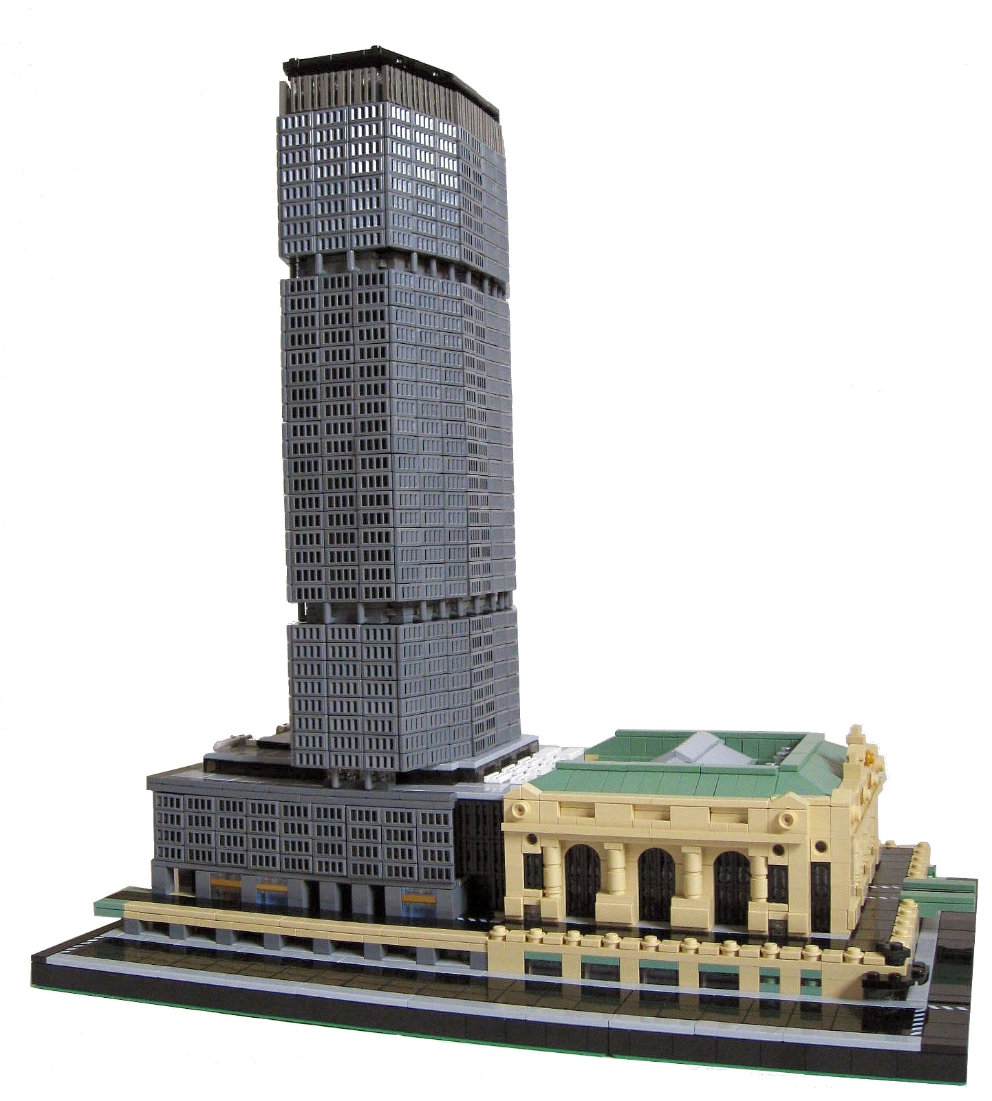MicroBricks MetLife Building And Grand Central Terminal