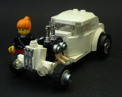 Hotrod and bike