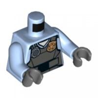 973PB2162C01 LEGO Torso Police Shirt with Dark Bluish Gray ...