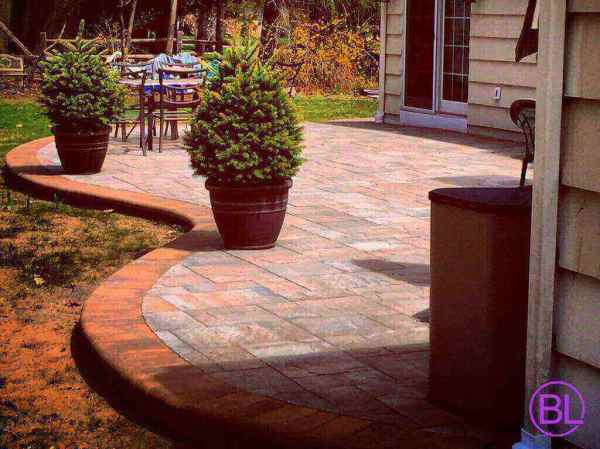 brick's landscape patio design
