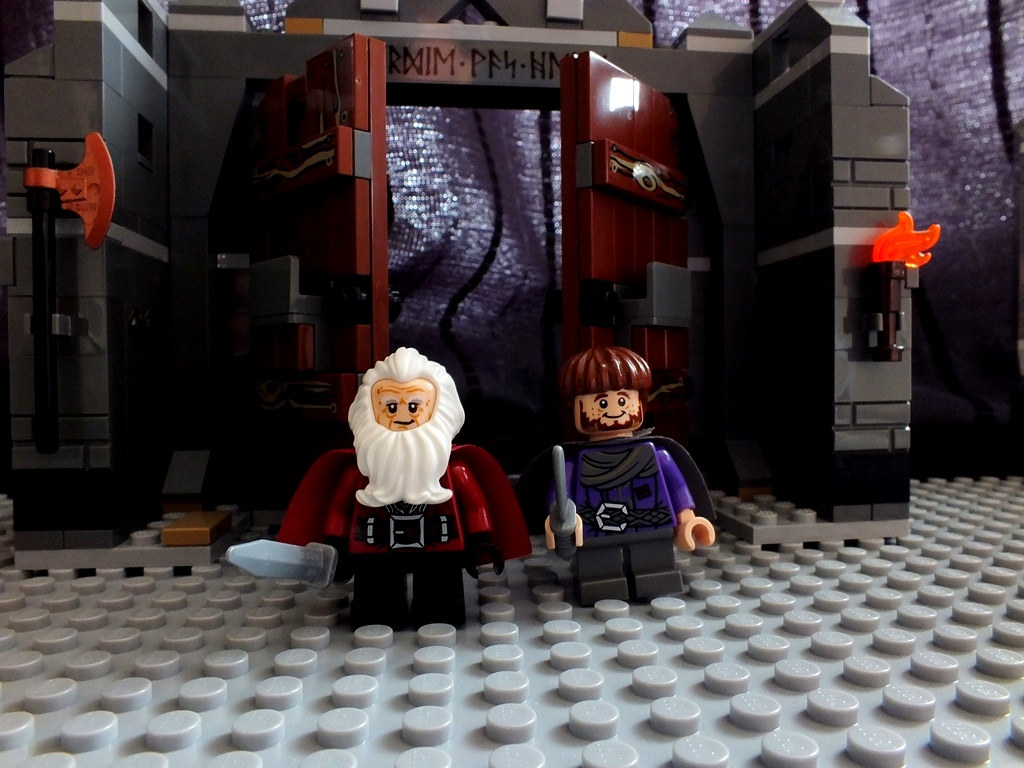 Balin and Ori in the Mines of Moria