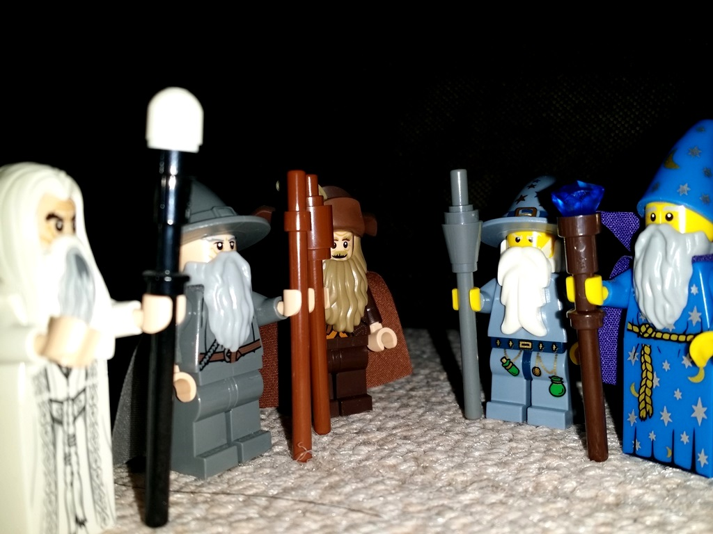 what really happened to the two blue wizards in middle earth