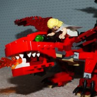 A Lego Dance with Dragons