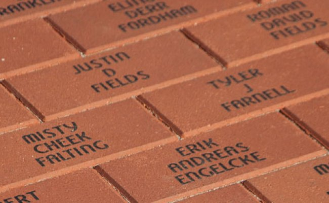 Engraved Bricks Fundraiser Why Choose Bricks R Us