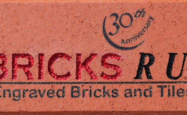 Engraved Bricks Bricks R Us For Fundraising