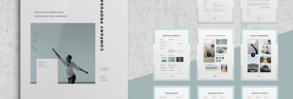 10 Best Project Proposal Templates for Adobe Indesign