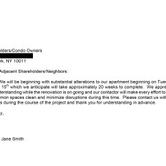 Ergonomic Chair Request Letter Mies Van Der Rohe Renovation Letters To Neighbors 3 Real Life Examples
