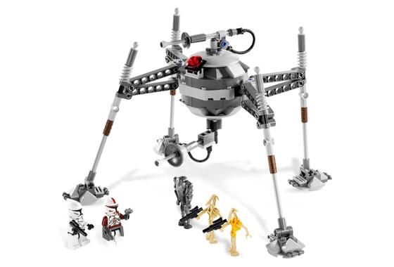 Lego 7681 Star Wars Separatist Spider Droid