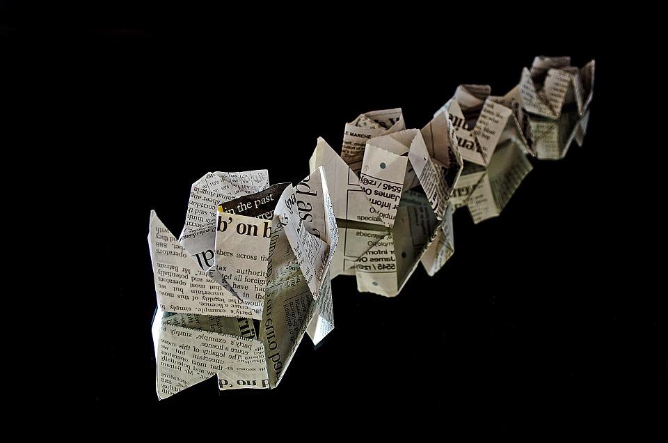 10 idées originales pour réutiliser le papier journal