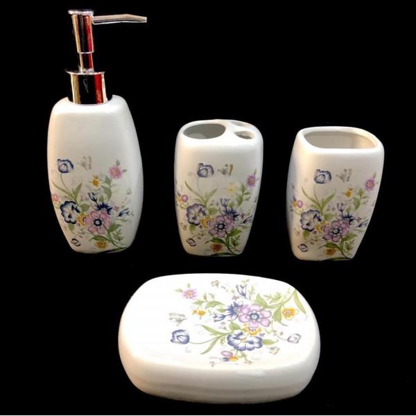 accessoires de salle de bain ceramique set de bain