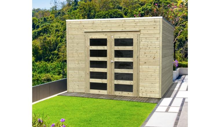 abri de jardin en bois bari solid 8 01 m s8741 1
