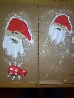 La main du père Noel