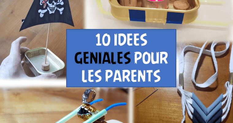 10 bricolages qui peuvent changer la vie des parents