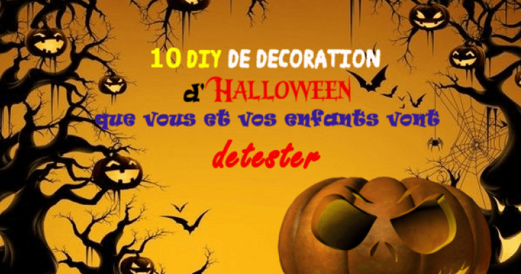 10 DIY pour Halloween