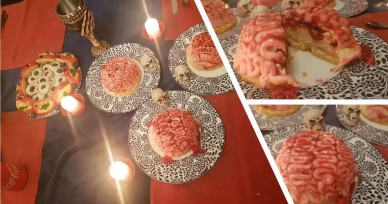Cervelles de Zombies d'Halloween