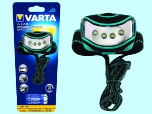 Torcia varta led sport head light  -16630