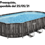 Piscina Fuori Terra Bestway 5611R Power Steel Ovale 610 X 366 X 122