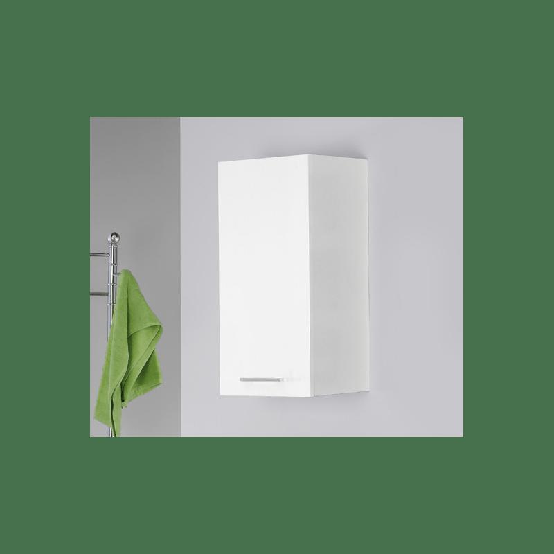 Mobile bagno pensile Feridras 3040 cm  Bianco  Brico Casa