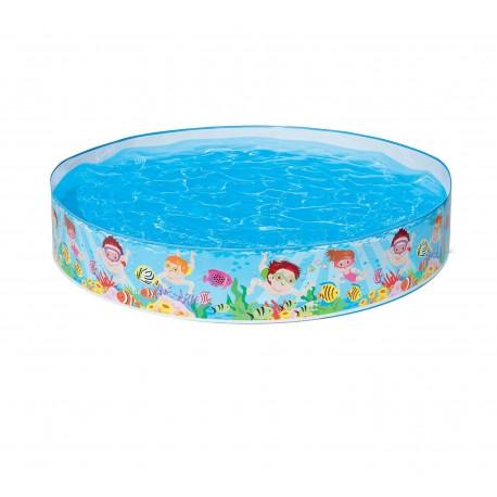 Piscina per bambini rigida da giardino esterni  Intex 54451  Brico Casa
