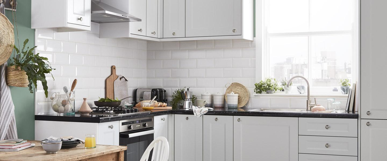cuisine artemisia blanc mat