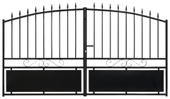 portail en fer aluminium portillon