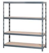 etagere de rangement d atelier bois