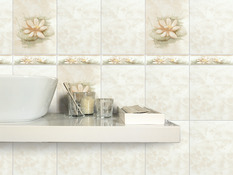 listel carrelage pour salle de bain
