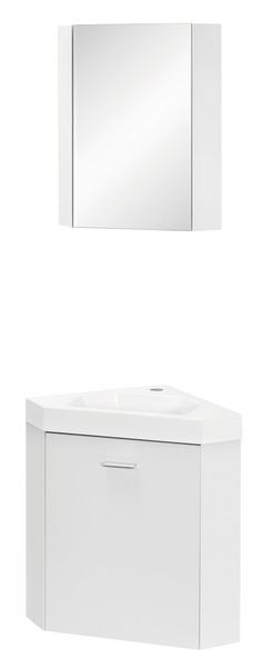 lave mains d angle armoire miroir