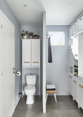 armoire wc blanche ladoga l 60 cm goodhome