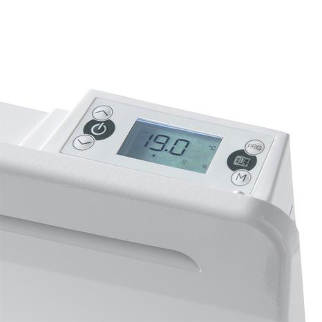 Radiateur Electrique Blanc Ceramique New Design 2000w H 45 X L 85 Cm Brico Depot