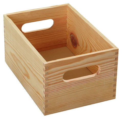 caisse en bois pour rangement d atelier