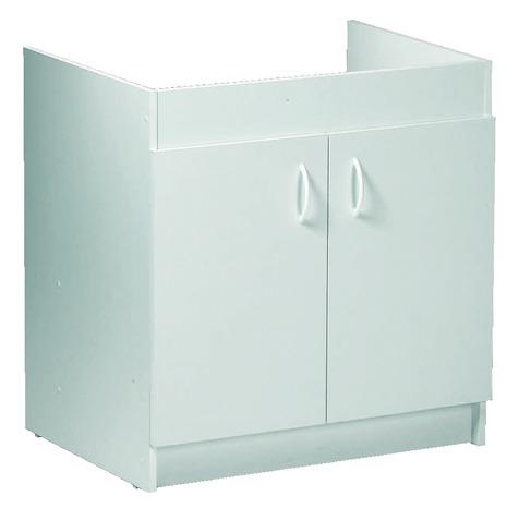 meuble sous evier 2 portes 2 portes l