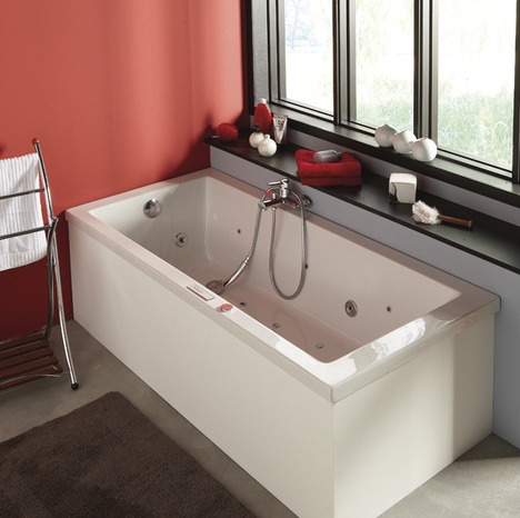 tablier universel pour baignoire droite